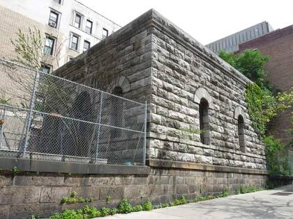 Croton Aqueduct gatehouse at Amsterdam Ave. and W. 119th St.