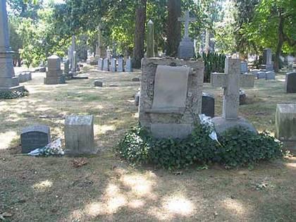 Herman Melville's gravesite.