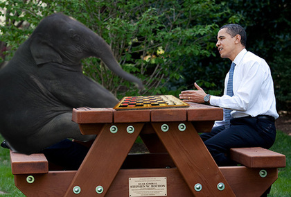 Large obama chess vs checkers copy