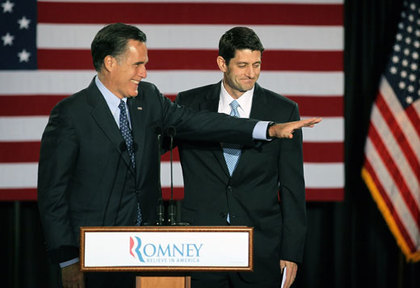 Large mitt romney paul ryan