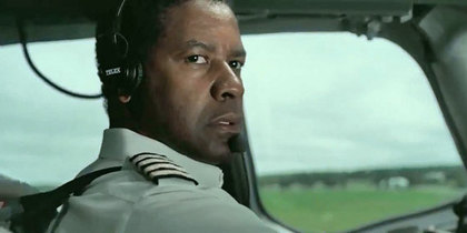 Large denzel washington flight en