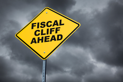 Large fiscal cliff ahead