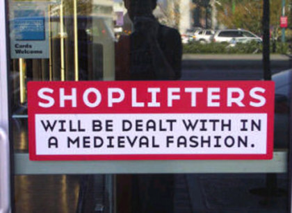 Large shoplifters