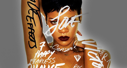 Large rihanna new album artwork 2012