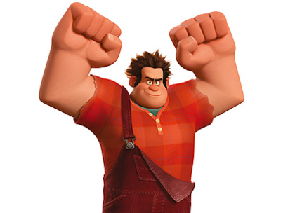 Large wreck it ralph box office