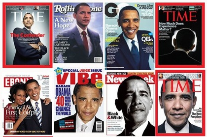 Large obama magazine covers 2008