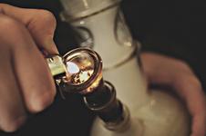 Medium bong bud fire lighter marijuana favim.com 114485
