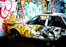 Medium g 0018 lomo graffiti collison