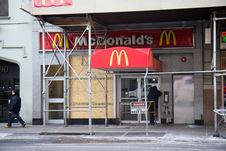 Medium mcdonalds fire closed exterior