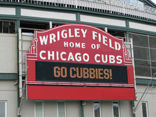 Medium cubs sign