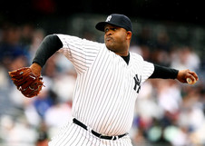 Medium c.c. sabathia cc sabathia 52 of the new york yankees pitches against the oakland athletics during their game on april 22 2009 at yankee stadium in the bronx borough of new york city