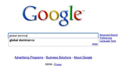 Large googledominance