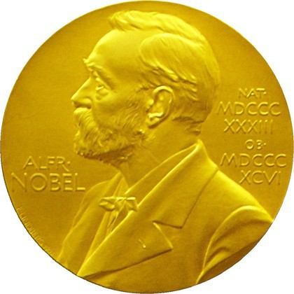 Large nobel medal