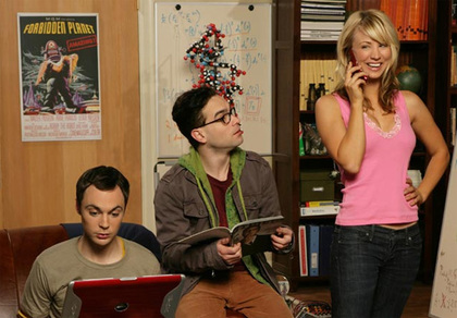 Large the big bang theory cbs tv show image